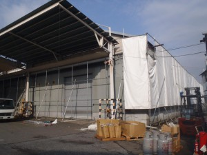 N製紙様物流倉庫4棟解体工事 131